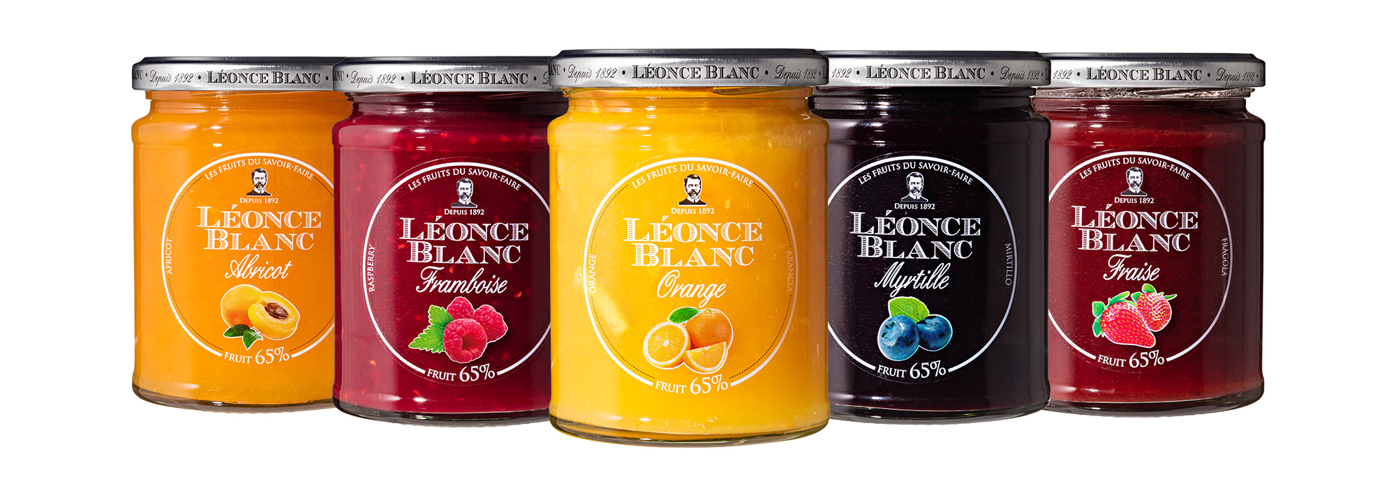 Gamme Fruits Gourmands Léonce Blanc