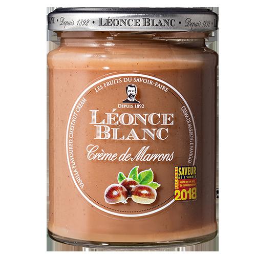Crème de marron vanille Léonce Blanc