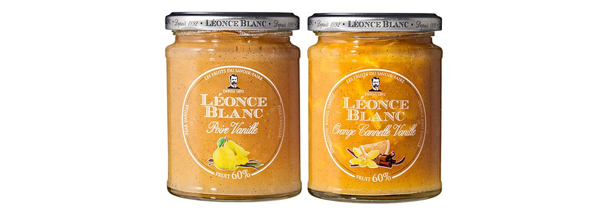 Gamme Saveurs Léonce Blanc