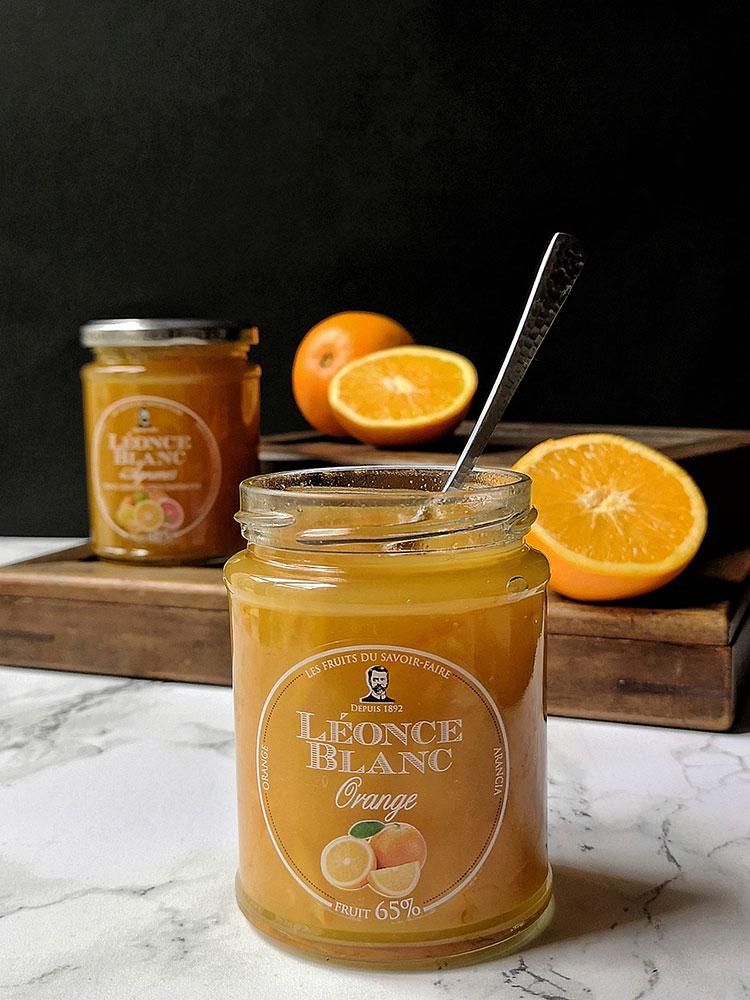 Confiture d'orange Le plaisir sensoriel Léonce Blanc